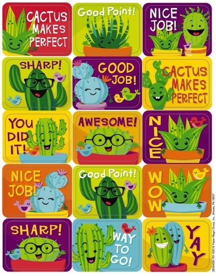 Sharp Bunch Purple Reward Stickers