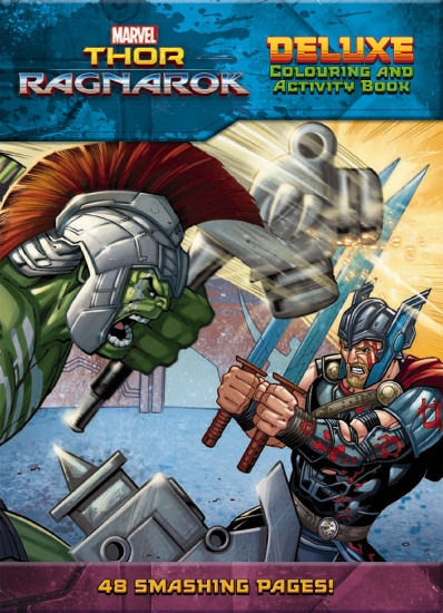 The Store Marvel Thor Ragnarok Deluxe Colouring
