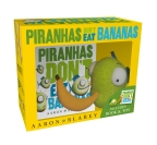 Piranhas Don't Eat Bananas Mini Book + Plush
