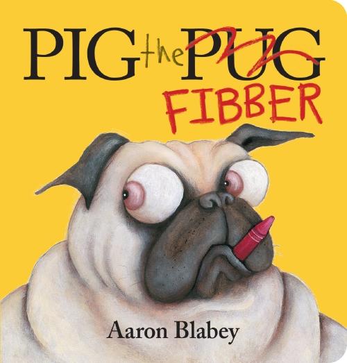 PIG THE FIBBER BOARD BOOK