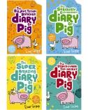 Diary of  Pig 4 Book Set