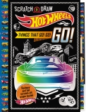Hot Wheels: Scratch & Draw Things That Go! Go! Go!