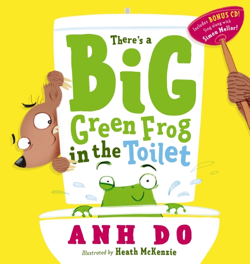 There's a Big Green Frog in the Toilet + CD