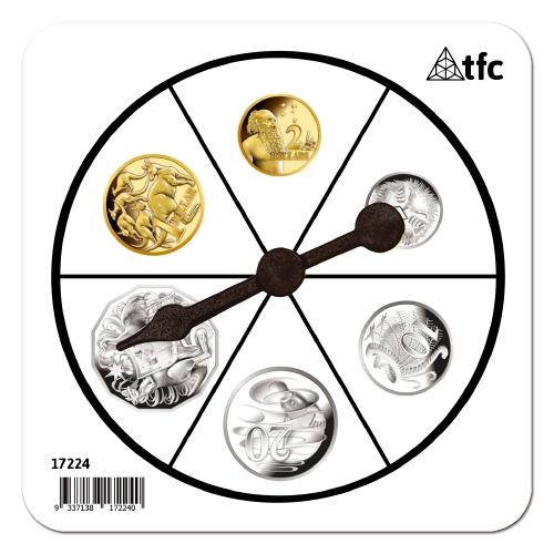 Australian Money Coins Spinner