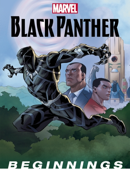 The Store Marvel Black Panther Beginnings Book
