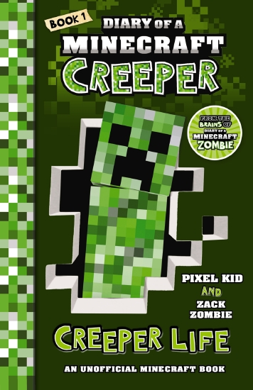 the store diary of a minecraft creeper 1 creeper life book