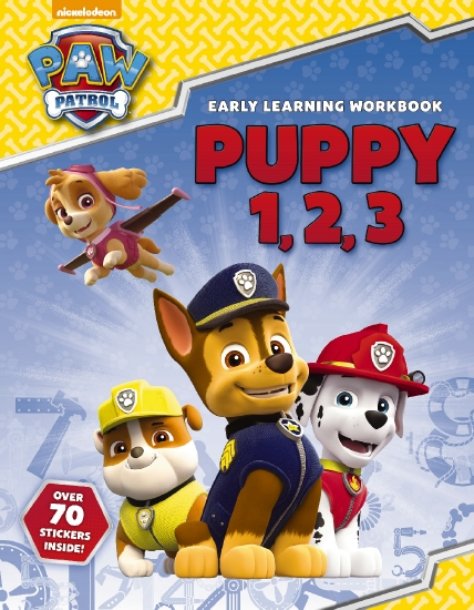 The Store - Paw Patrol 123 Sticker Book - Book - The Store