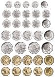 Magnetic Australian Coins