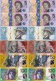 Magnetic Australian Notes Manipulatives