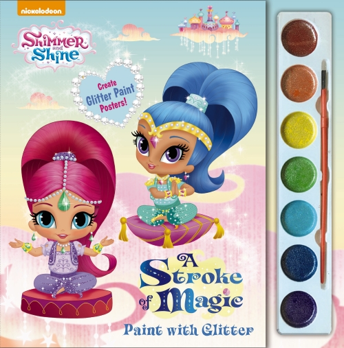 Shimmer and Shine: Stroke of Magic Paint With Glitter