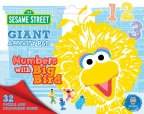 Sesame Street: Numbers with Big Bird Giant Activity Pad