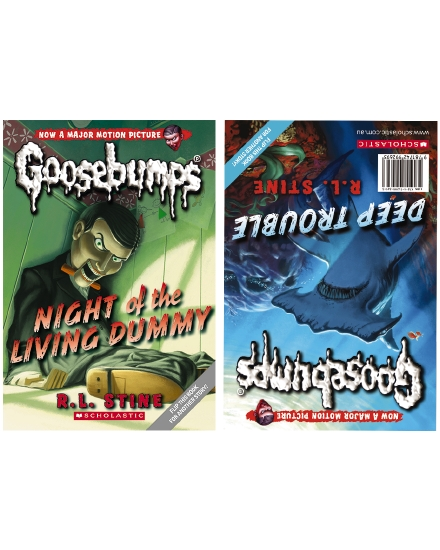 Goosebumps 1 and 2 Flip Book