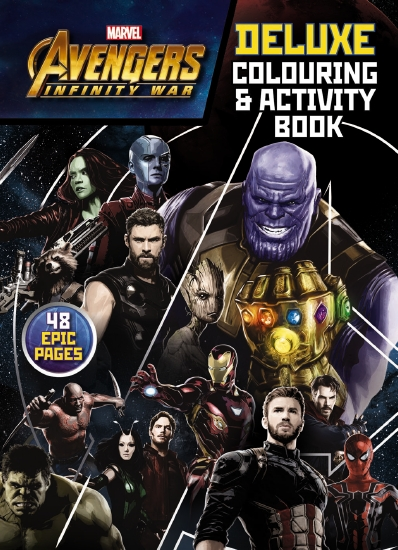 Avengers Infinity War: Deluxe Colouring & Activity Book