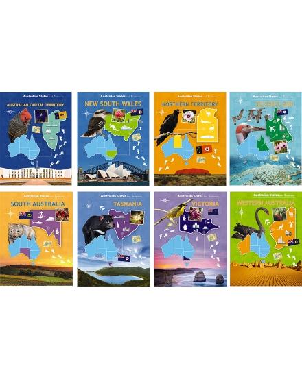 Australian States & Territories 8-Pack