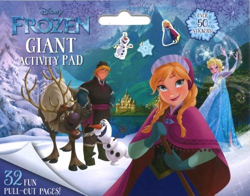 Frozen: Giant Colouring Pad (Disney)