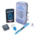 Top Secret UV Lock Stationery Tin Set