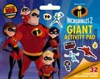 Incredibles 2: Giant Activity Pad (Disney)