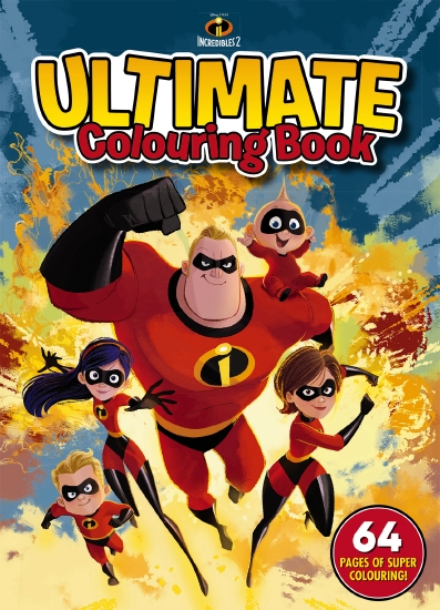 Incredibles 2: Ultimate Colouring Book (Disney-Pixar)