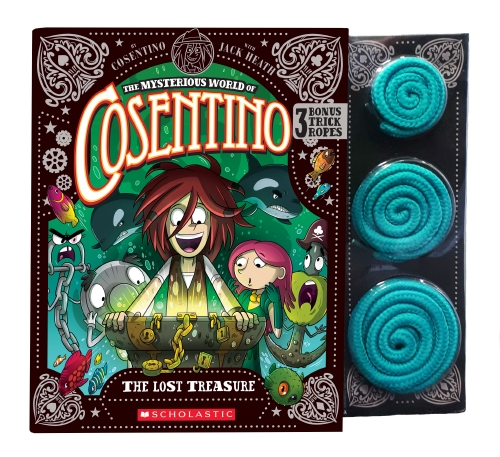 Mysterious World of Cosentino #3: The Lost Treasure + Rope Trick