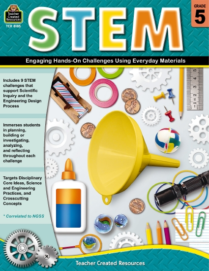 STEM: Engaging Hands-On Challenges Using Everyday Materials                                          - Teacher Resource