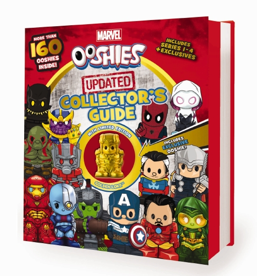 Marvel Ooshies Updated Collector's Guide - Book