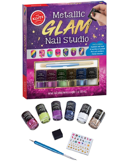 Klutz: Metallic Glam Nail Studio