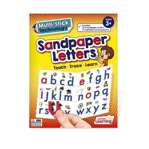 Multi-Stick Sandpaper Letters