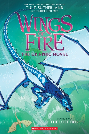 Wings of Fire Graphic Novel #2: The Lost Heir