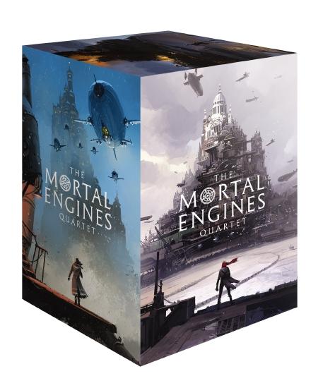 MORTAL ENGINES QUARTET BOX 1-4