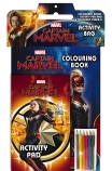 Marvel: Captain Marvel Activity Bag