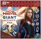 Marvel: Captain Marvel Giant Activity Pad