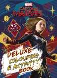 Marvel: Captain Marvel Deluxe Colouring and Activity Book