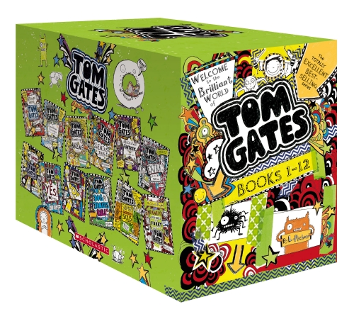 Welcome to the Brilliant World of Tom Gates Books 1-12