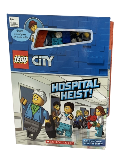 Hospital Heist!: Storybook with Minifigures and Minibuilds (LEGO CITY)