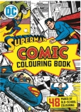 DC Comics: Superman Vintage Comic Colouring Book