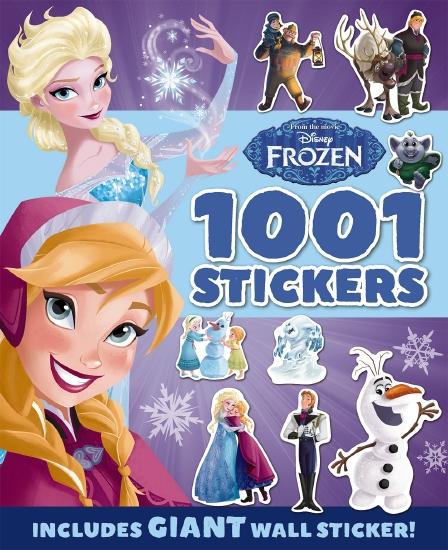 Disney: Frozen 1001 Sticker Book