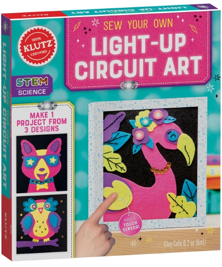 Sew Your Own Circuit Art