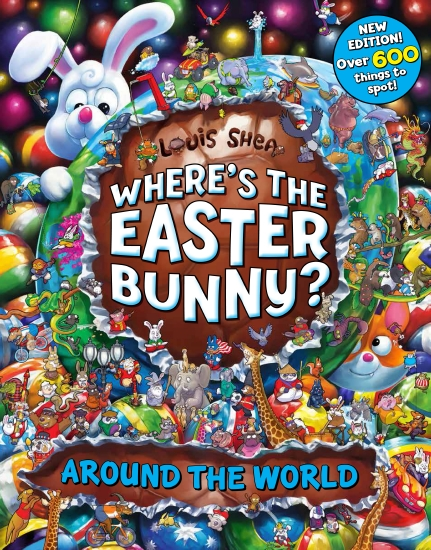 Where's The Easter Bunny? Around the World