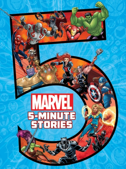 Marvel: 5-Minute Stories                                                                             - Book