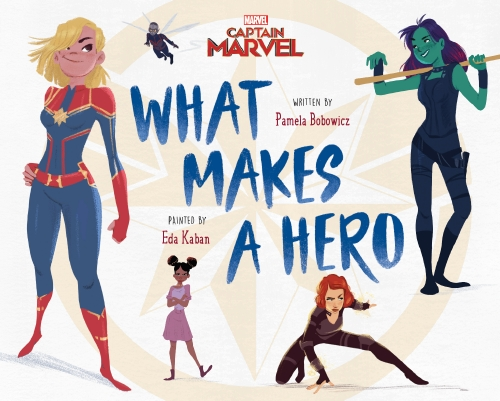 Marvel: Captain Marvel What Makes a Hero                                                             - Book