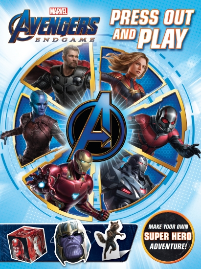 Avengers 4: Press Out and Play