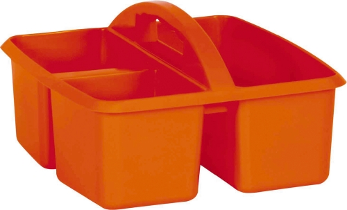 Small Plastic Caddy - Orange