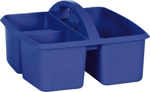 Small Plastic Caddy - Dark Blue
