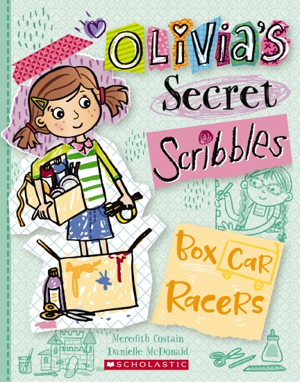 Olivia's Secret Scribbles #6: Box Car Racers