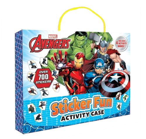 Avengers: Sticker Fun Activity Case (Marvel)