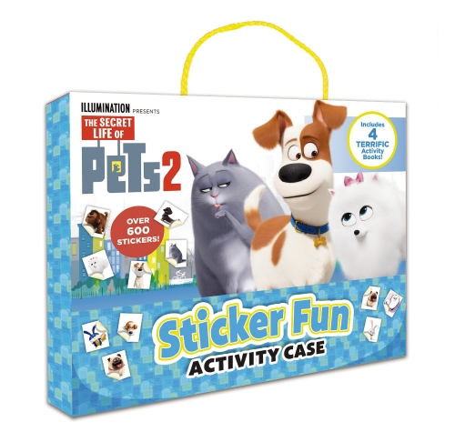 Secret Life Of Pets #2: Sticker Fun Activity Case