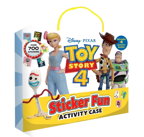 Toy Story 4: Sticker Fun Activity Case (Disney-Pixar)