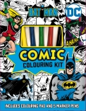 Batman: Comic Colouring Kit