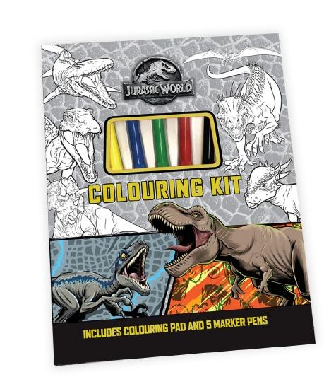 Jurassic World: Colouring Kit (Universal)
