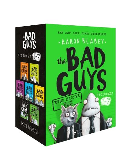 Bad Guys Even Badder Box (Episodes 1-7)